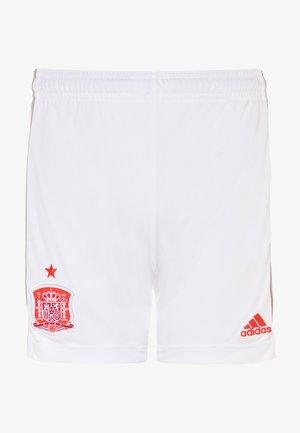 FEF SPANIEN A SHO Y - Sports shorts - white
