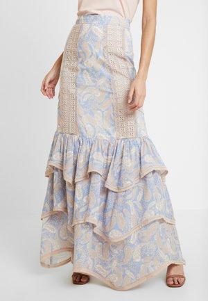 SORRENTO SKIRT - Maxi skirt - cornflower