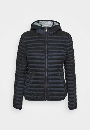 LADIES JACKET - Daunenjacke - navy blue/light stee