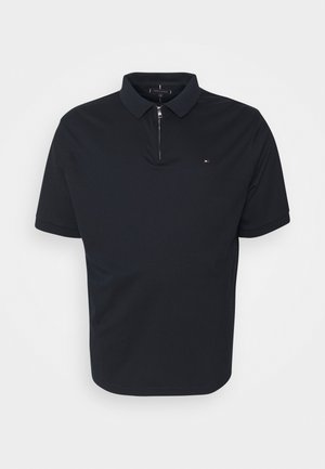 INTERLOCK ZIP - Polo - desert sky