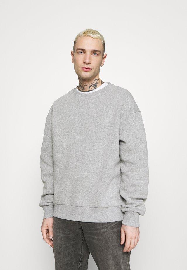 BASIC LOOSE FIT - Sweatshirt - grey marl