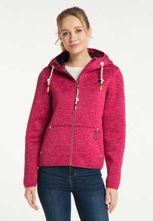 Fleece jacket - sorbetrot melange