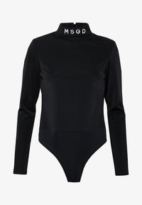 Missguided - SKI BODY SUIT - Long sleeved top - black - 3