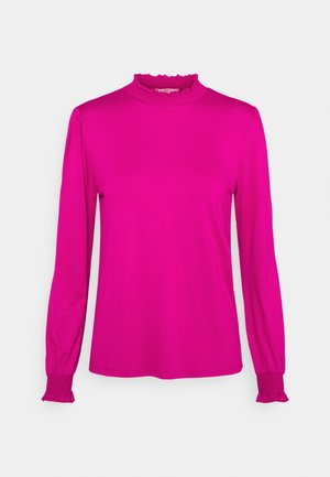 Long sleeved top - dark pink