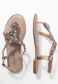 Alma en Pena - T-bar sandals - taupe - 3