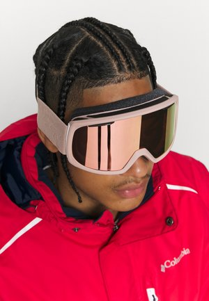 RIOT UNISEX - Ski goggles - everyday rose/gold mirror yellow