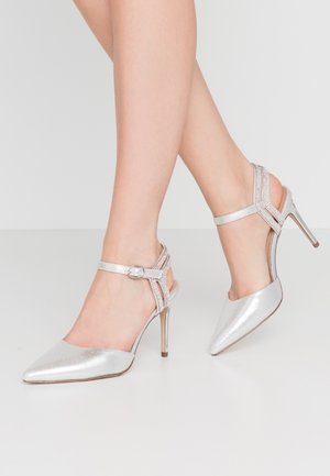 SPECTACLE - Højhælede pumps - silver