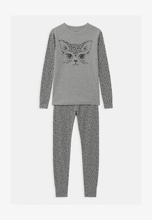 GIRLS CAT - Pyjama set - light heather grey