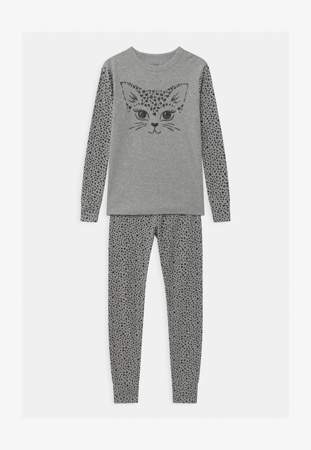 GIRLS CAT - Pyjama - light heather grey