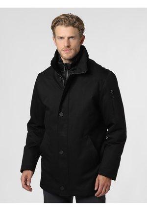 AUS DER WASSERDICHTEN RAINSERIES - Short coat - schwarz
