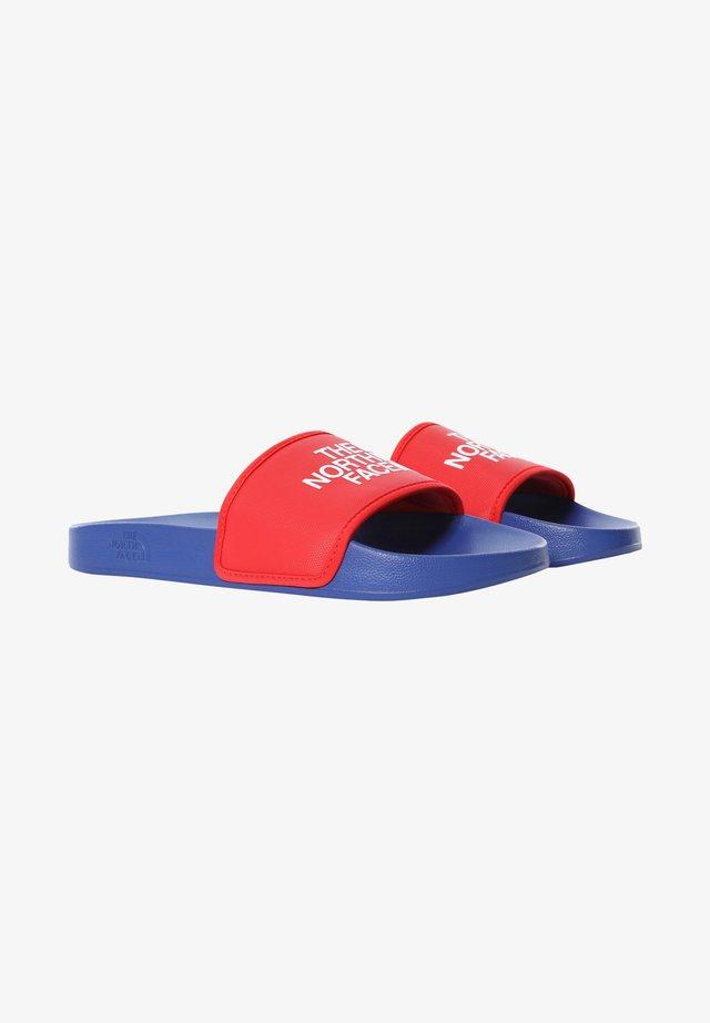 M BASE CAMP SLIDE III - Sandali da bagno - tnf blue/horizon red