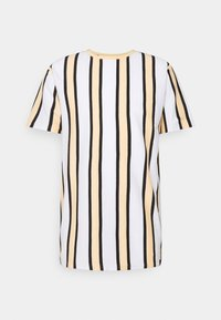 Denim Project - RAMIREZ TEE - Print T-shirt - white/peach fuzz/ black - 0