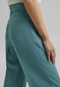 Esprit Collection - Trousers - dark turquoise - 4