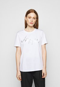 Marc Cain - Print T-shirt - white - 0