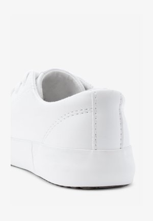 WHITE LACE-UP SHOES (OLDER) - Trainers - white