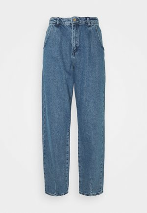 ONLVERNA BALLOON - Relaxed fit -farkut - medium blue denim