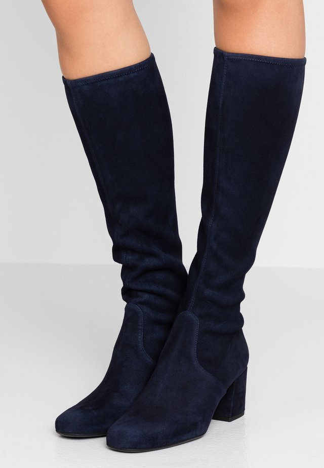 ANGELIS STRETCH - Botas - navy blue