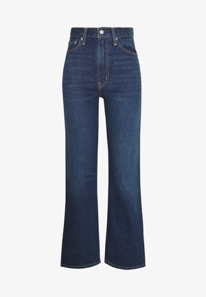 WELLTHREAD RIBCAGE ANKLE - Straight leg jeans - ground swell indigo hemp