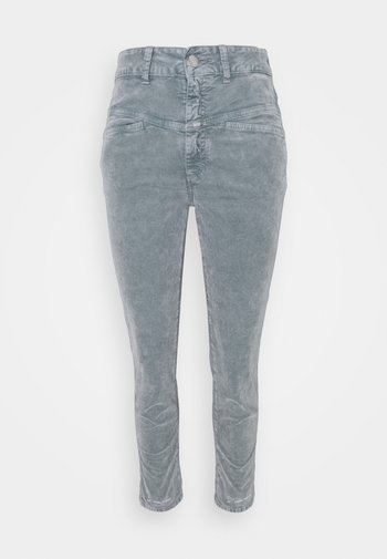 PEDAL PUSHER - Trousers - pale teal