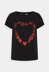 Love Moschino - T-shirt imprimé - black - 6