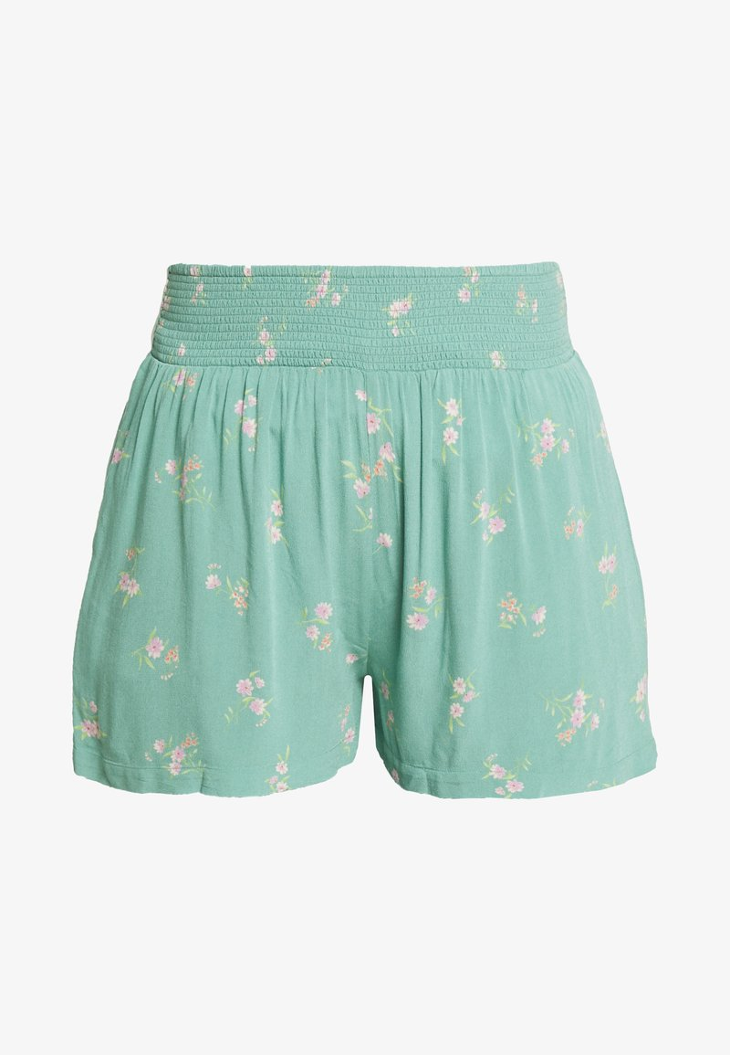 American Eagle - CHAIN RUNNER FLORAL - Shorts - green