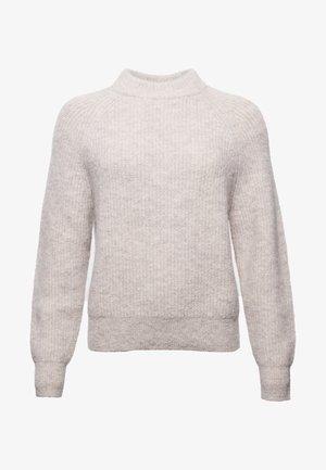 ALPACA BLEND - Jumper - cloud grey marl