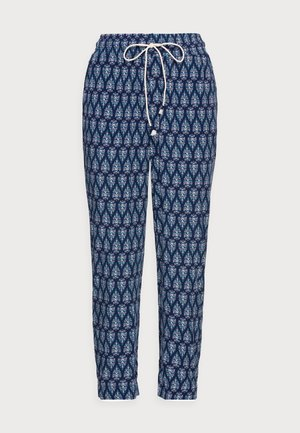 FLUIDO PRINT AZUL - Trousers - medium blue
