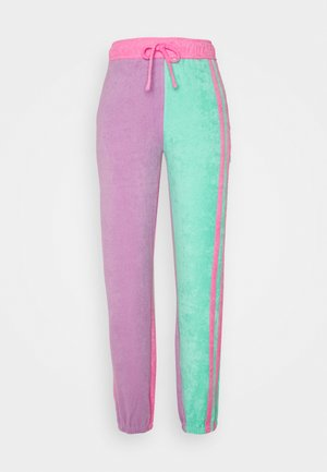 TOWELLING JOGGERS - Tracksuit bottoms - multi
