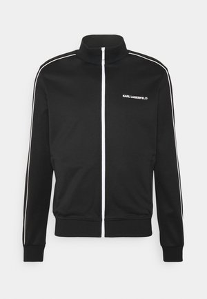 ZIP JACKET - Giacca sportiva - black