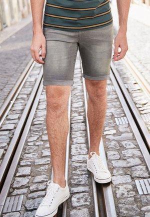 Szorty jeansowe - grey denim