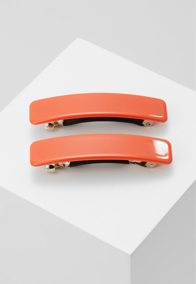 EVELYN BARETTESET 2 PACK - Håraccessoar - orange
