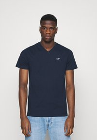 Hollister Co. - 5 PACK - Print T-shirt - white/blue/sage/navy/black - 4