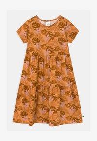 Fred's World by GREEN COTTON - SAFARI LAYER  - Jersey dress - mango - 0