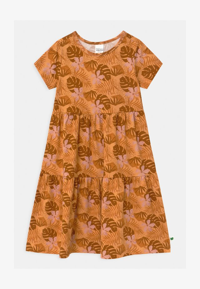 SAFARI LAYER  - Jersey dress - mango