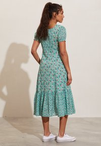 Odd Molly - Jerseyklänning - dusty turquoise - 3