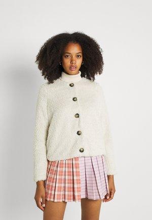VMCOZYAMANDA  - Fleece jacket - oatmeal