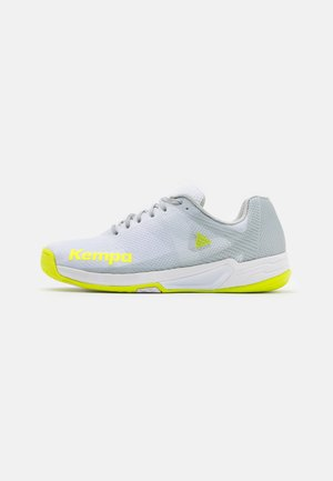 WING 2.0 - Handball shoes - white/flou yellow