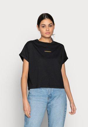 DEGRADE BACK LOGO TEE - T-shirt med print - black
