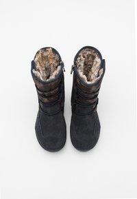Primigi - Winter boots - notte/bronzo - 3