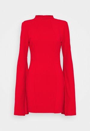 THE SENSE OF MYSTERY DRESS - Jerseyjurk - scarlett