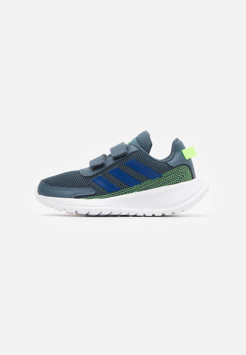 adidas Performance - TENSAUR RUN UNISEX - Neutral running shoes - legend blue/royal blue/signal green