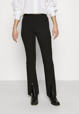 MARION TROUSERS  - Kalhoty - black