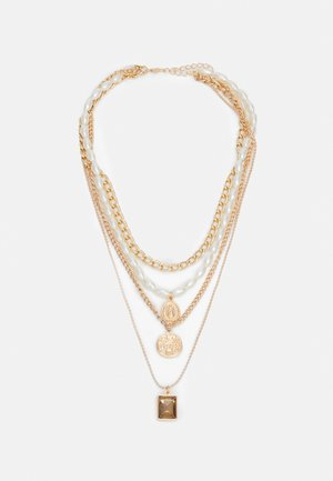 STONNIA COMBI NECKLACE - Smykke - gold-coloured