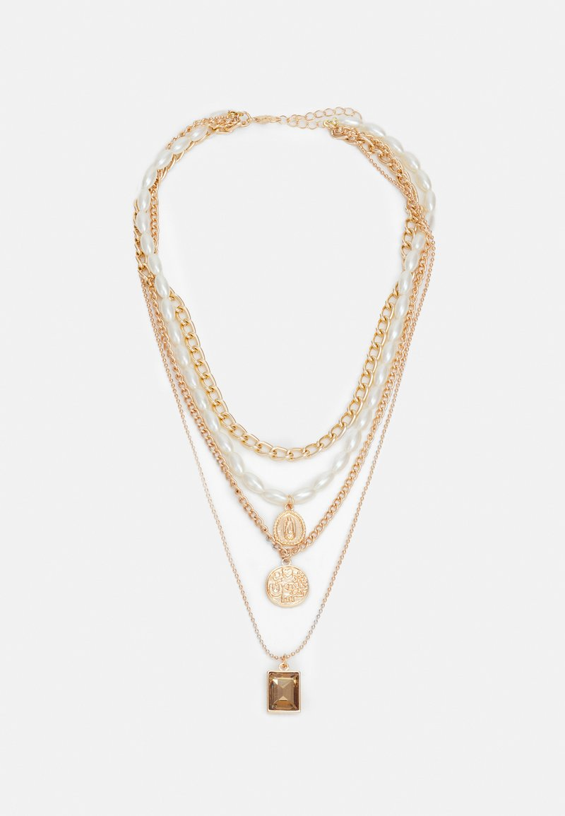 Fire & Glory - STONNIA COMBI NECKLACE - Necklace - gold-coloured