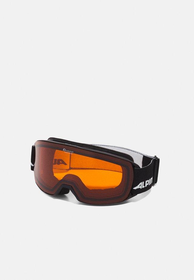 NAKISKA UNISEX - Skibriller - black