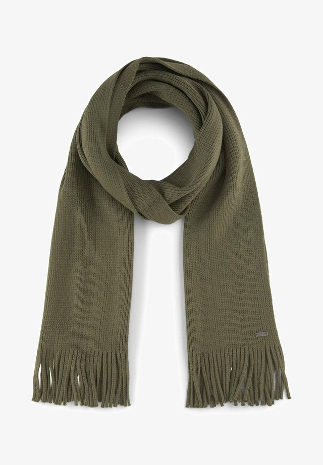 MIT FRANSEN - Scarf - olive night green