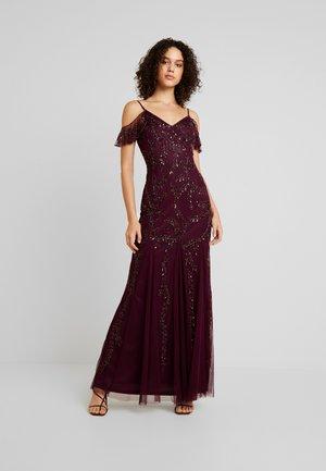 METTIA - Společenské šaty - berry