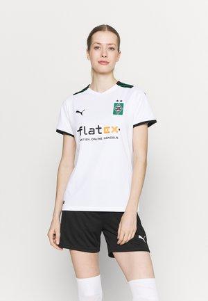 BORUSSIA MÖNCHENGLADBACH HOME REPLICA  - Club wear - white/power green