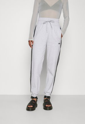 CUFFED PANT - Pantalones deportivos - light grey heather