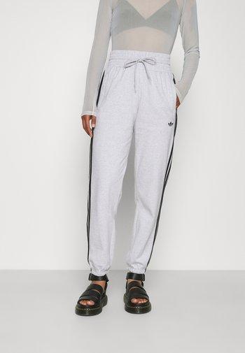 CUFFED PANT - Tracksuit bottoms - light grey heather